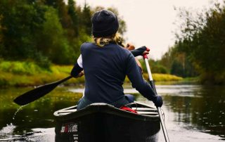 Bad food habits are like paddling against the current